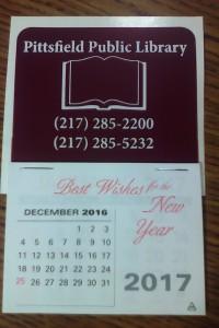 Stick-On Calendar